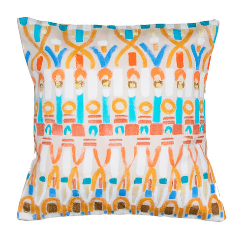 Le Botteghe d'Arte Printed Artisan Cushion