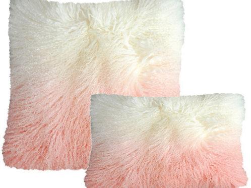 Aviva Stanoff Luxe Fur Mongolian Ombre Rose Quartz