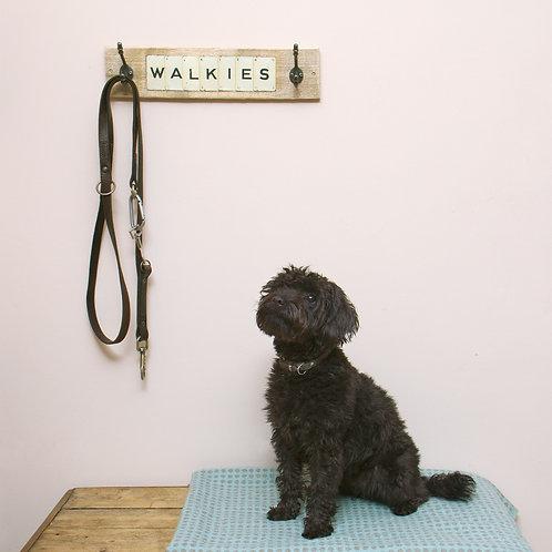 Vintage Playing Cards - 'Walkies' Dog Lead Rack