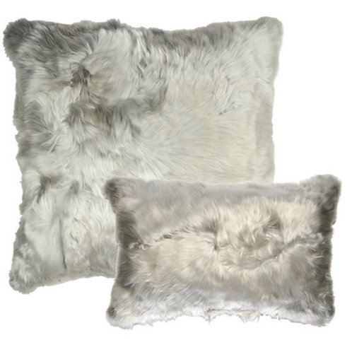Aviva Stanoff Suri Alpaca in Silver
