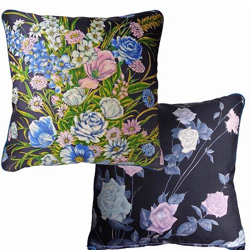 Botanical Bouquet Cushion by Nichollette Yardley-Moore