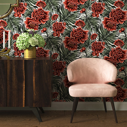 Tropical Flower Wallpaper