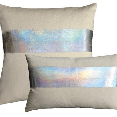 Aviva Stanoff Mod Art in AB Horizon on Canvas Cushion