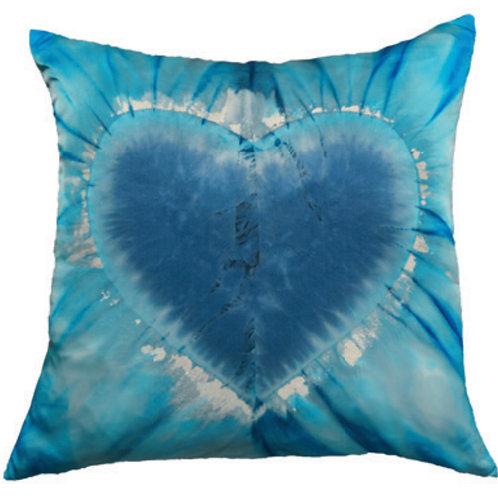 Aviva Stanoff One Love in Turquoise Sparkle Cushion