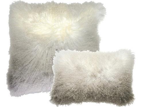 Aviva Stanoff Luxe Fur Mongolian Ombre Smolder