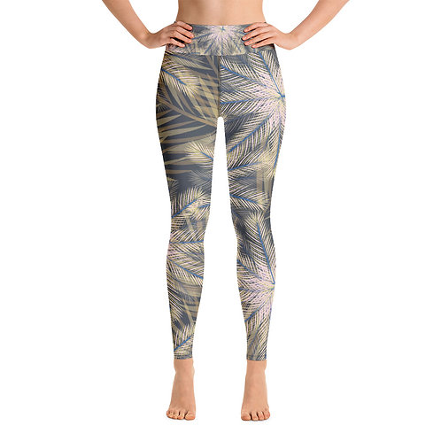 Rebecca J Mills Yoga Full Length Leggings - Breeze