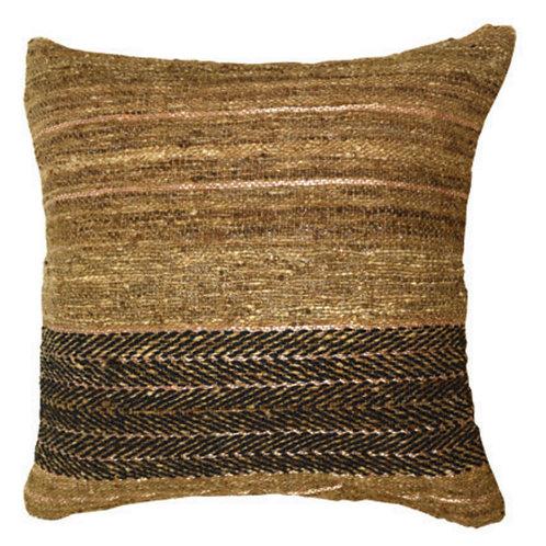 Aviva Stanoff Wild Silk in Flint Cushion