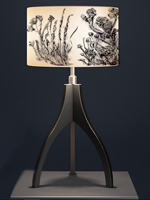 Elaine Collins 'Meadow Muse' Organic Lampshade