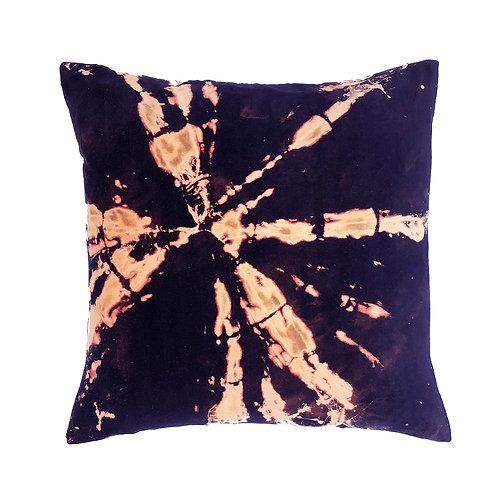Stranger Than Them - Stardust Navy Square Velvet Cushion