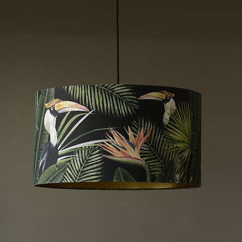 Mind the Gap - Birds of Paradise Lampshade