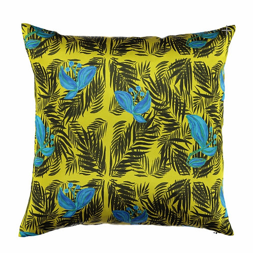 Mariska Meijers - Palm Beach Tropical Yellow Pillow