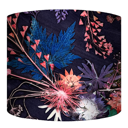 Gillian Arnold - Blue Wreath | Pink & Blue Lamp Shade For The Home