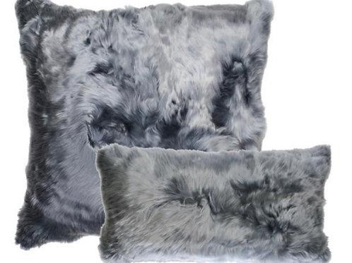 Aviva Stanoff Suri Alpaca in Charcoal
