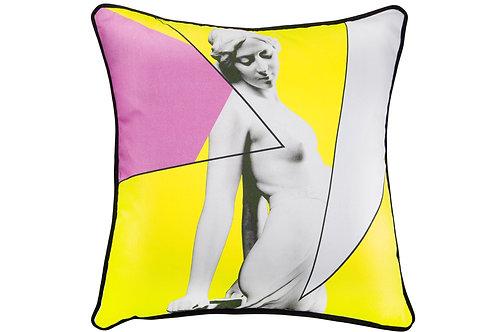 Bivain Siren Yellow Cotton Cushion
