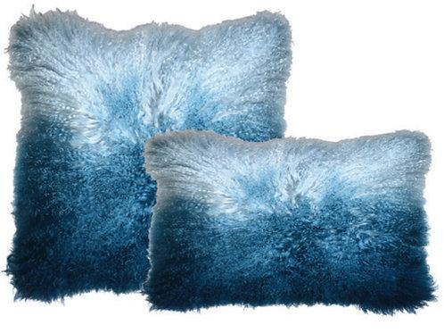 Aviva Stanoff Luxe Fur Mongolian Ombre Twilight