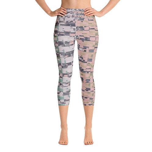 Rebecca J Mills Yoga Capri - Block