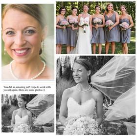 Beautiful Bride ! #mainemakeupartist #ma