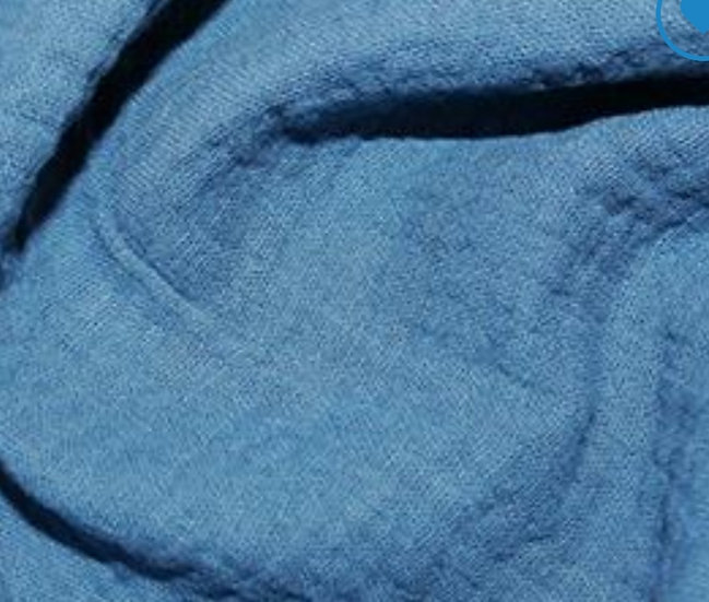 Double Gauze blue