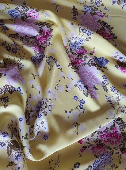 Spring time Yellow-Viscose