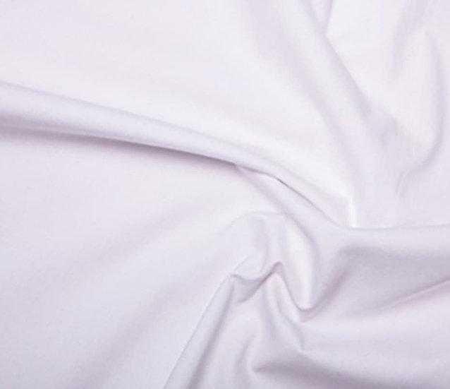 100% Cotton White