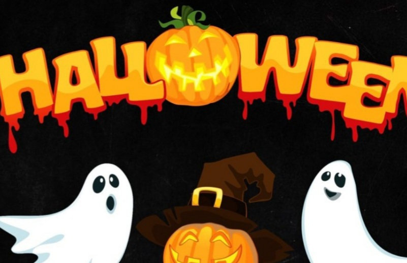 KIDS! Make a halloween bag!