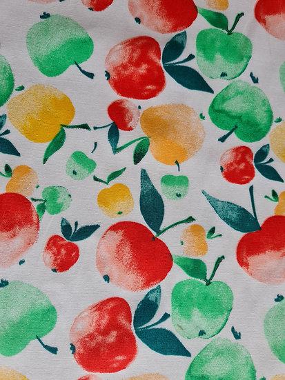 Apples 100% Cotton