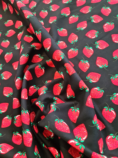 Strawberry 🍓 100% Cotton