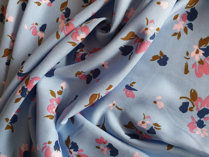 Abstract Flowers- Viscose