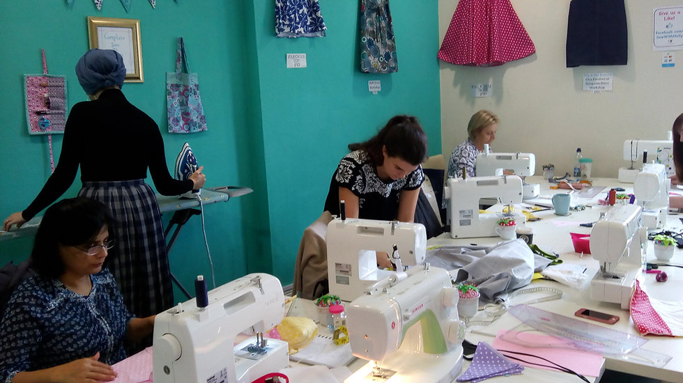 Weekly sewing classes