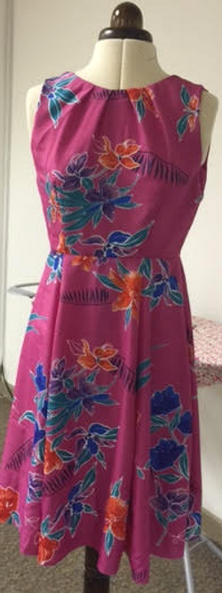 Eman's summer dress