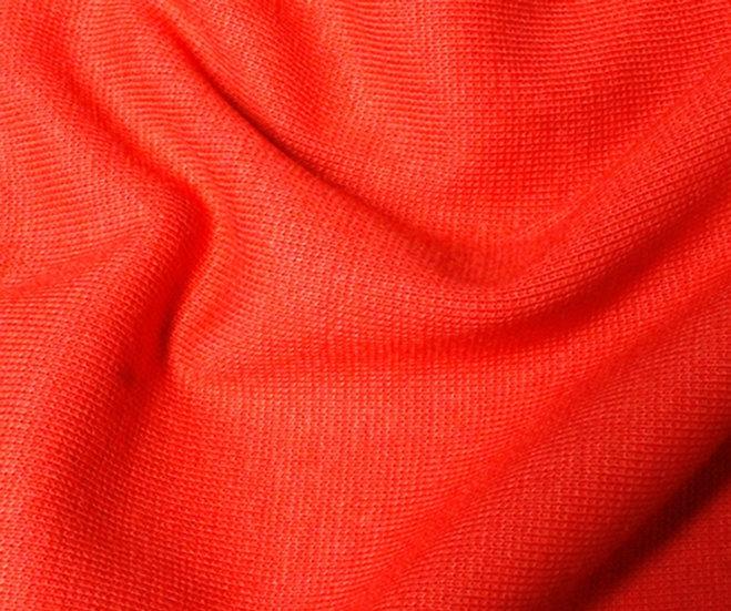 Red Jersey Ribbing