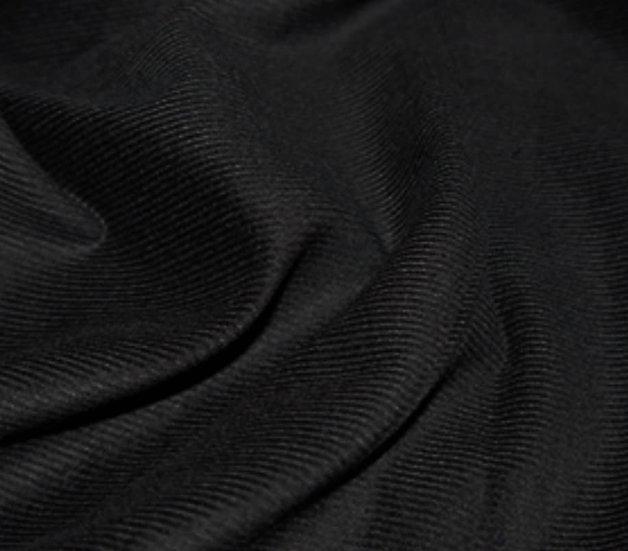 needlecord- Black (21 wale)