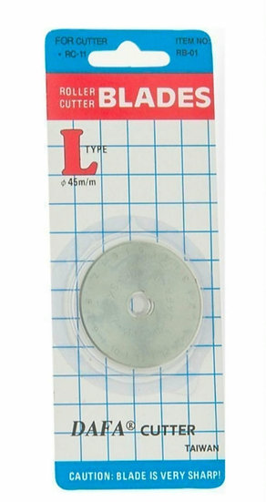 Rotary cutter spare blades 45mm