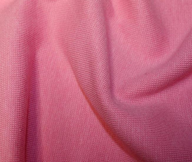 Pink Jersey Ribbing