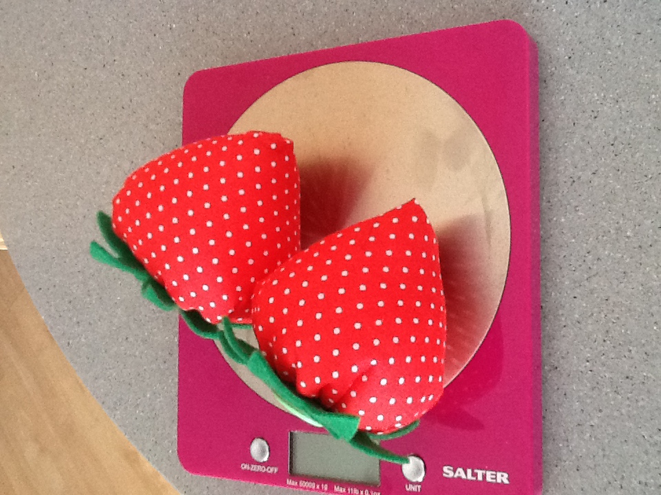 Nan's strawberry pin cushion