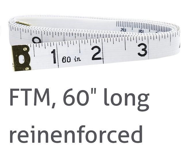 "60"" Reinforced Tape Measure"