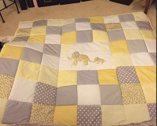 Jenna's patchwork quilt