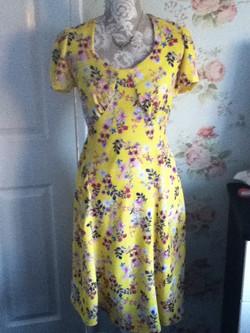 Rachel's 40s tea dress