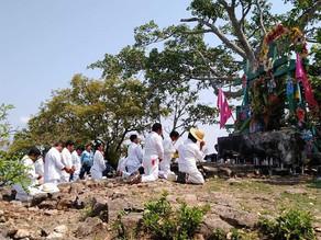 En pleno pico de pandemia continúan celebraciones religiosas en Carranza