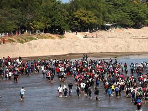 Caravana Migrante ingresó por la fuerza a nuestro país