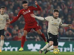 Liverpool derrota a un diezmado Manchester United en Premier League