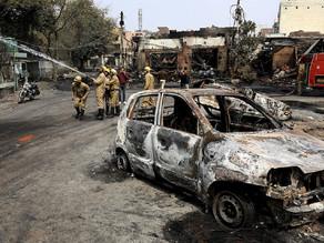 Aumenta a 34 cifra de muertos por violentos disturbios en la India