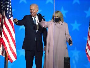 """""""Me siento honrado de haber sido electo para liderar este gran país""""; Joe Biden"""