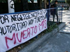 UNAM reconoce negligencia en muerte de estudiante de CCH