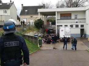 Arresto masivo de estudiantes en protesta de Francia