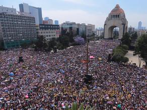 Miles de mexicanas toman las calles en todo el país