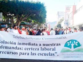"""Pandemia y falta de pagos """"ahoga"""" a cientos de maestros"""