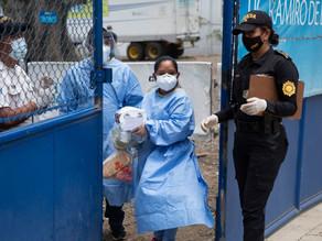 Colapsan hospitales de Guatemala por falta de personal médico
