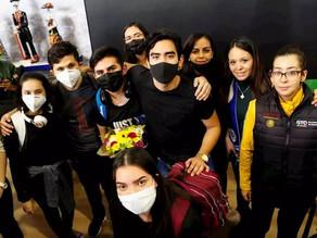 Arriban a Guanajuato 18 estudiantes procedentes de China