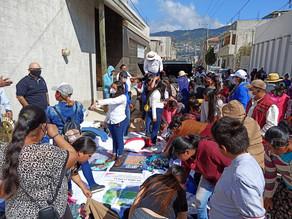 Entregan ayuda humanitaria a colonia inundada en San Cristóbal